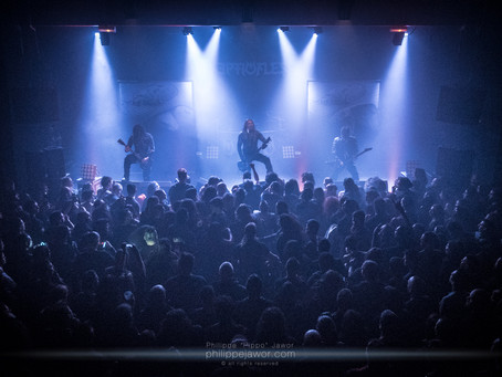 SEPTICFLESH + INQUISITION + ODIOUS – Lyon, 14.01.2018