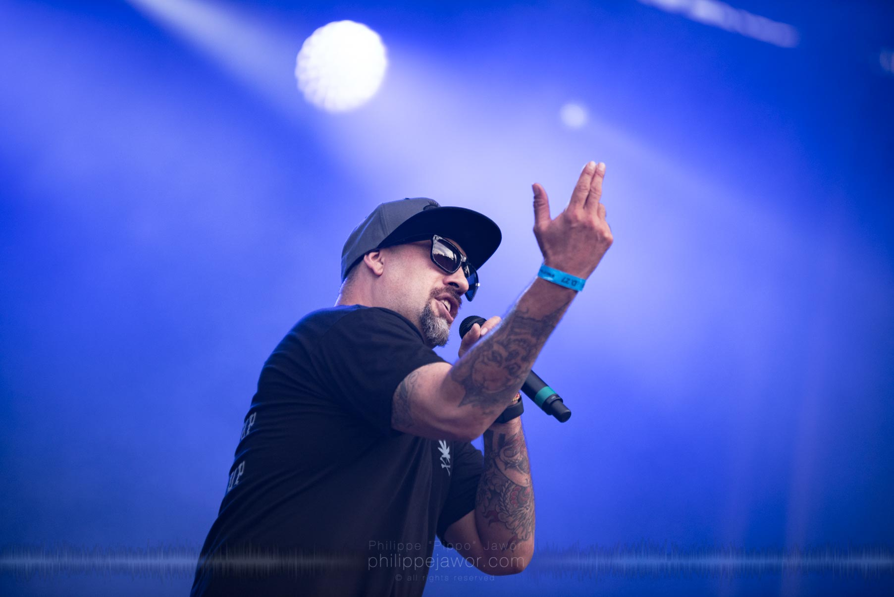 The American hip hop group Cypress Hill, live at Rock en Seine festival, Paris, France, August 2017.  On assignment for ZYVA Magazine All rights reserved.