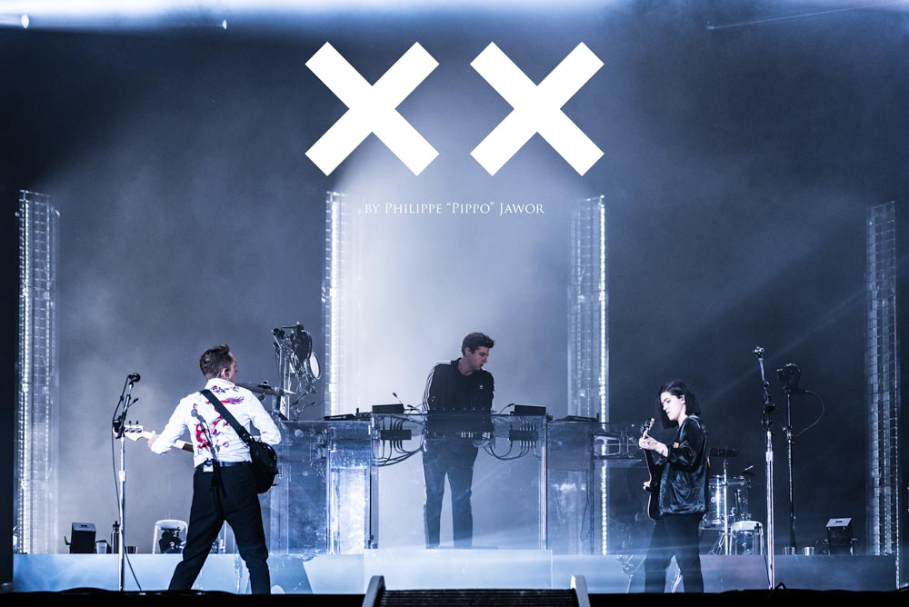 The English indie pop band The XX, live at Rock en Seine festival, Paris, France, August 2017.  On assignment for ZYVA Magazine All rights reserved.