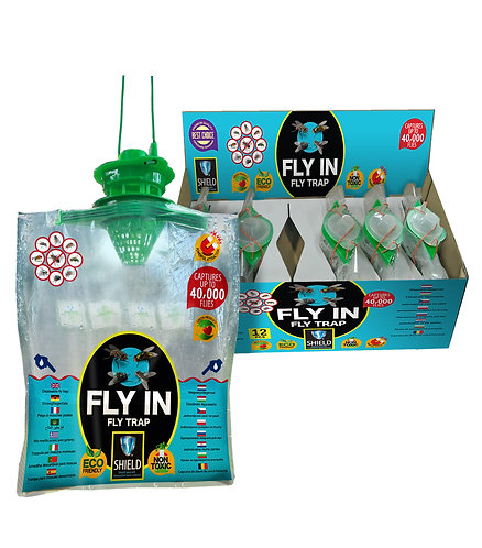 FLY IN TRAP 12 PACK BIO