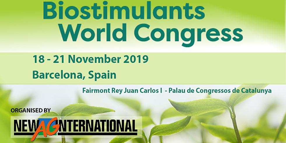 Bio Stimulants World Congress 2019 , Barcelona