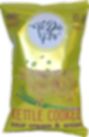 """To Die For"" Sour Cream Kettle Cooked Chips, kettle cow, chip bag design, sour cream & onion cow"