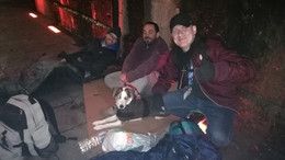 Sleeping Rough Campaign 2018