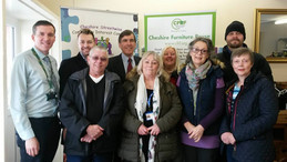 Cheshire Streetwise Furniture Project opened by David Rutley