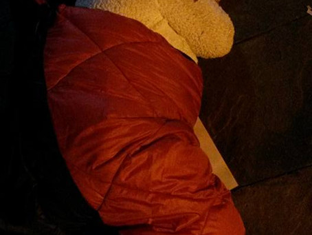Sleeping Rough Campaign 2015