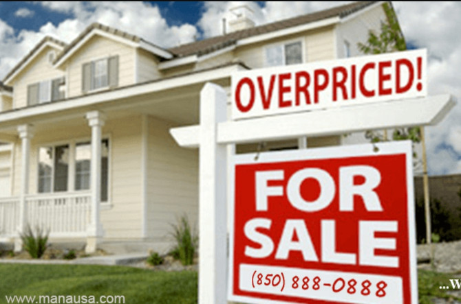Is it possible? 10 Signs your house maybe overpriced!