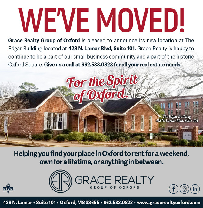 Grace Realty Group is headed to the Historic Downtown Oxford Square February 1!