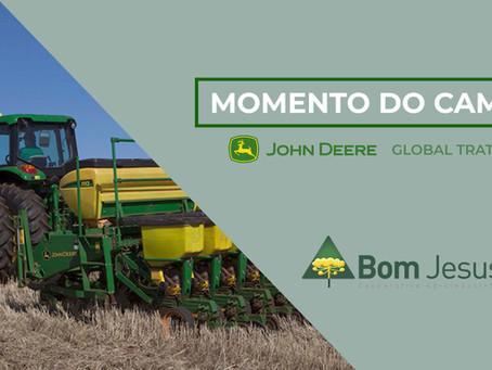 MOMENTO DO CAMPO - Série com a John Deere apresentam cuidados no plantio das culturas