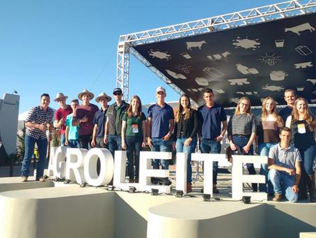 Jovens da Bom Jesus participaram do Jovemcoop 2018 e da Agroleite, em Castro