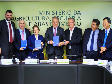 Baggio participa da entrega do Manual de Títulos do Agronegócio ao MAPA