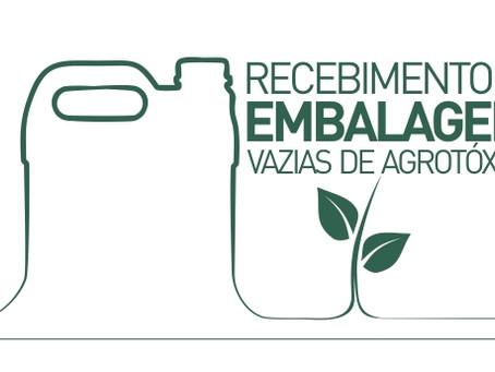 Cooperativa Bom Jesus realiza recebimento de embalagens vazias de agrotóxicos