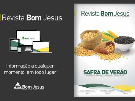 Revista Bom Jesus traz como capa a Safra de Verão