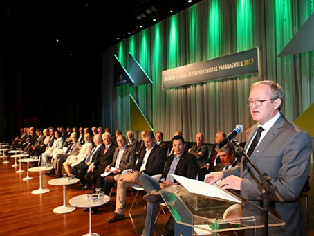 Presidente da Ocepar destaca o cooperativismo no estado do Paraná