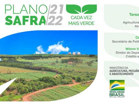 PLANO SAFRA: Governo anuncia R$ 251,22 bilhões para financiamento da agropecuária brasileira