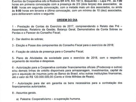 AGO 2018 terá palestra de José Luiz Tejon Megido