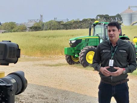 PLANTIO - John Deere realiza treinamento na Bom Jesus e material será disponível online