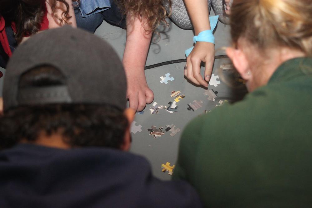 Atividade de cooperação no Encontro de Jovens Cooperativistas 2018
