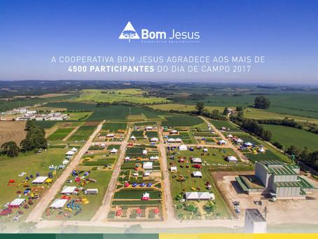 12º Dia de Campo da Bom Jesus encerra com participação de mais de 4500 pessoas