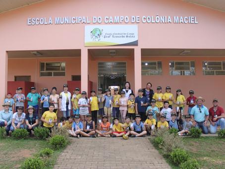 Consciência ambiental e cuidado com o futuro: Projeto Escola no Campo 2019 realiza plantio de árvore