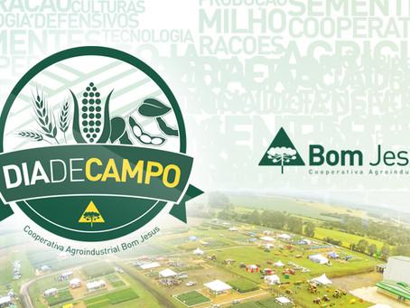 12º Dia de Campo da Cooperativa Bom Jesus será realizado em fevereiro de 2017