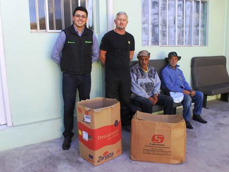 Cooperativa Bom Jesus realiza entrega de alimentos