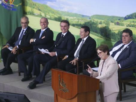 PLANO SAFRA: Governo anuncia R$ 225,59 bilhões para o período 2019/20; juros para agricultura comerc