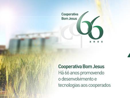 Bom Jesus 66 anos: desenvolvimento e transferência de tecnologias ao cooperado