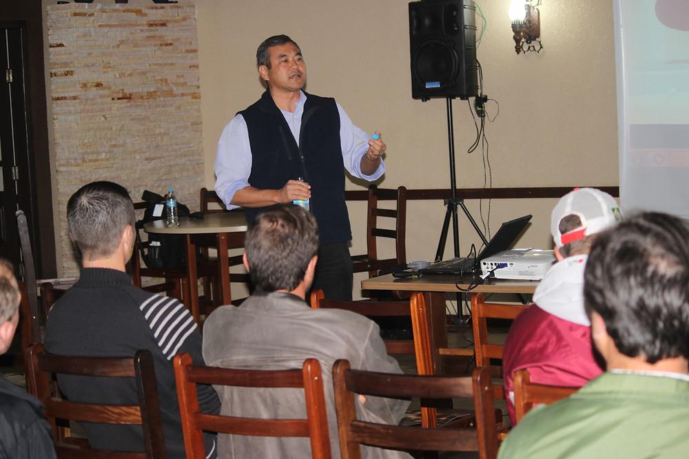 Flavio Irokawa apresenta cultura da batata