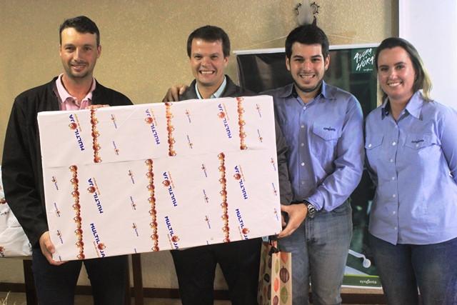 Cooperado Cleverson Caus ficou em 1º lugar no projeto Sillus.