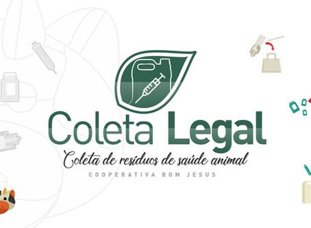 Coleta Legal apresenta sistema reverso de recebimento de embalagens veterinárias