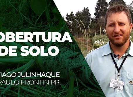 INFORME TÉCNICO - Agrônomo de Paulo Frontin explica sobre os benefícios da cobertura de solo