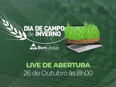 LIVE - Abertura do Dia de Campo de Inverno será feita online por Luiz Roberto Baggio