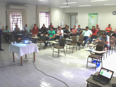 Cooperativa Bom Jesus promove treinamento para Operadores de Secador