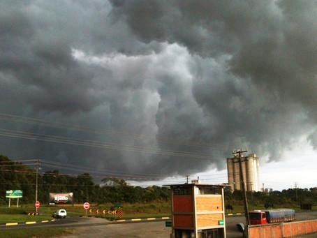 Previsão de chuva para os próximos dias na área de abrangência da Cooperativa Agroindustrial Bom Jes