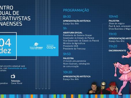 OCEPAR - Encontro Estadual de Cooperativistas acontece dia 04/12