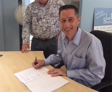 Bristol Franchise Contract Signing