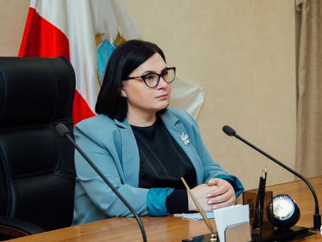 Встреча председателя Саратовского регионального отделения АЮР с Советом молодых юристов