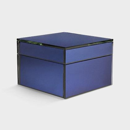 Box scatola specchio blue