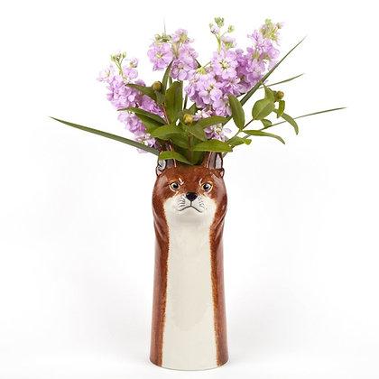 Vaso in Ceramica Volpe