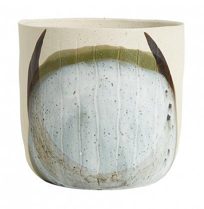 Vaso porta pianta in gres