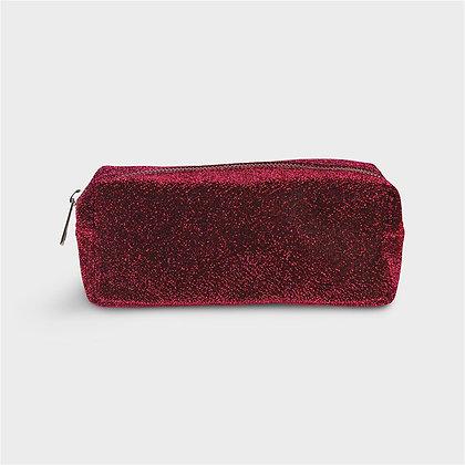 Beauty astuccio glitter rosso