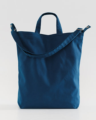 Borsa in canvas di cotone con tracolla