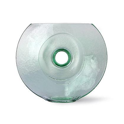 Vaso vetro circolare