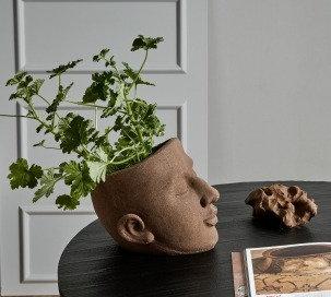 Vaso porta pianta viso