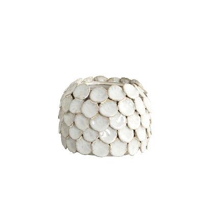 Vaso Dot ceramica smaltata small