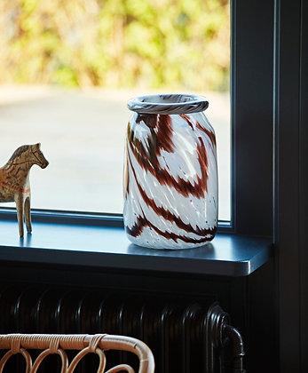 Vaso vetro colorato