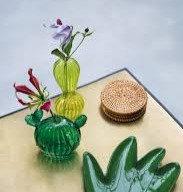Vaso vetro cactus