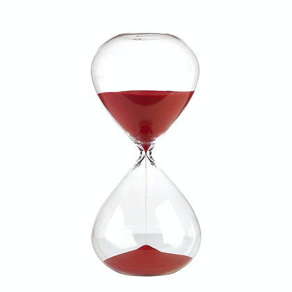 Clessidra in vetro 90 min