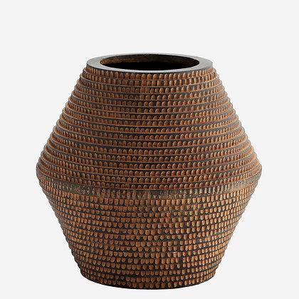 Vaso in fibra di argilla