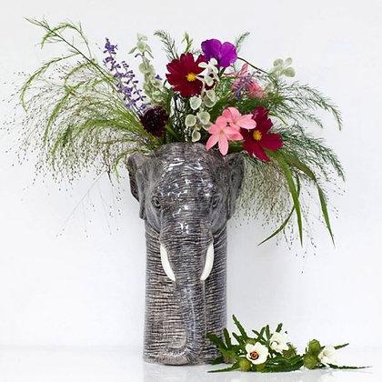 Vaso in Ceramica Elefante